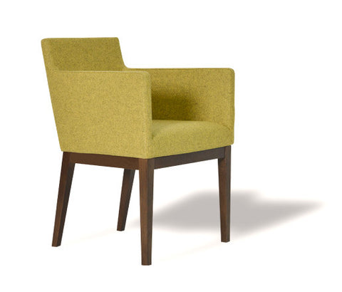 Harput Dining Chair Amber Wool