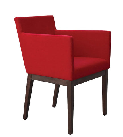 Harput Dining Chair Red Wool