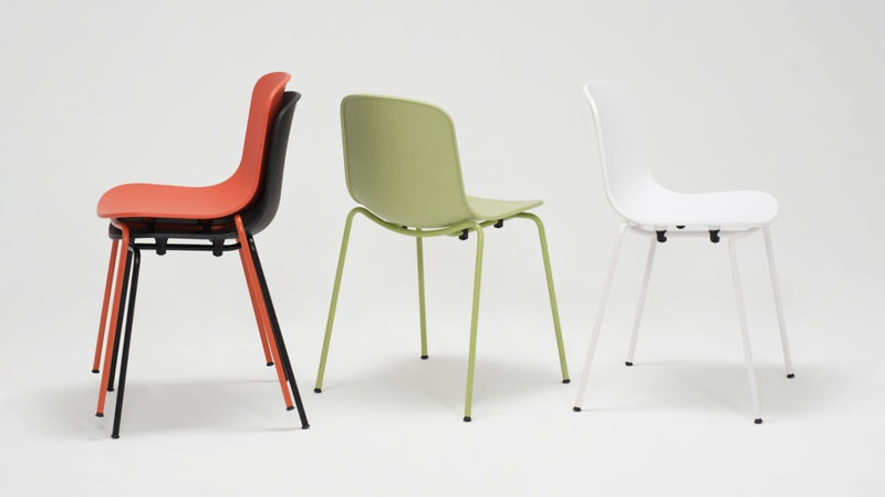 Holi Stackable Chair Solid w/Arms