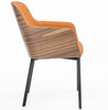 Buy Mid-Century Classic Wooden Armchair with Metal Legs | 212Concept