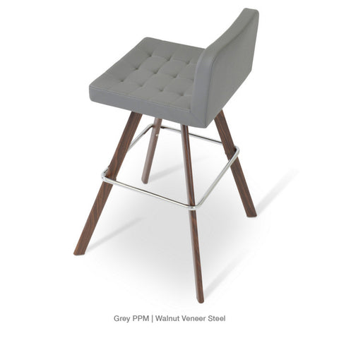 Buy Svelte Style Wide Tailored Seat Dowel Stool | 212Concept