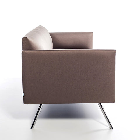 Buy Modern Box Design Led Lounge Chair with Curvy Interior Style | 212Concept