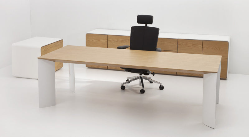 Buy modern Workspace Wood Veneer Top Manu Table | 212Concept