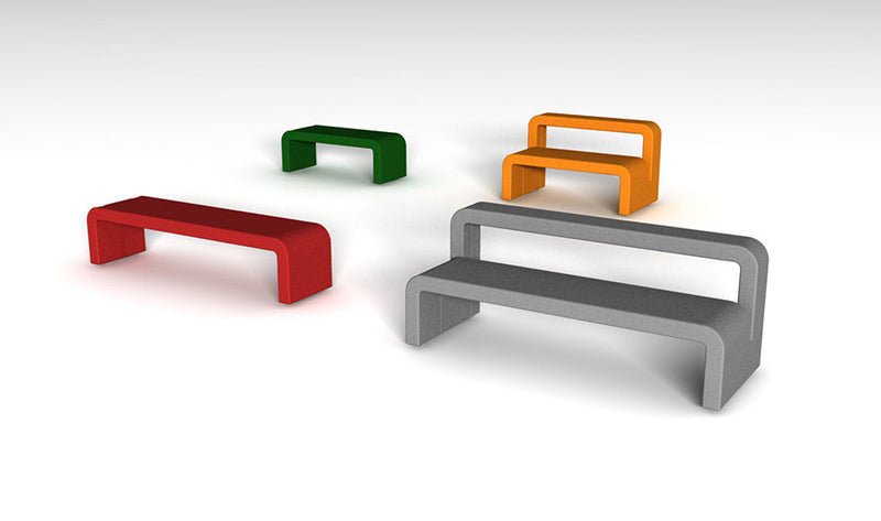 Moby Bench in Various Sizes