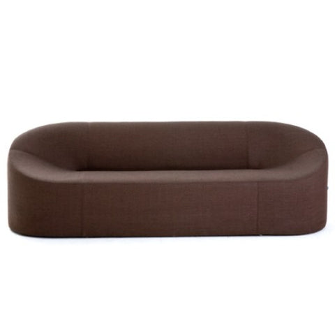 Morph modern sofa brown fabric