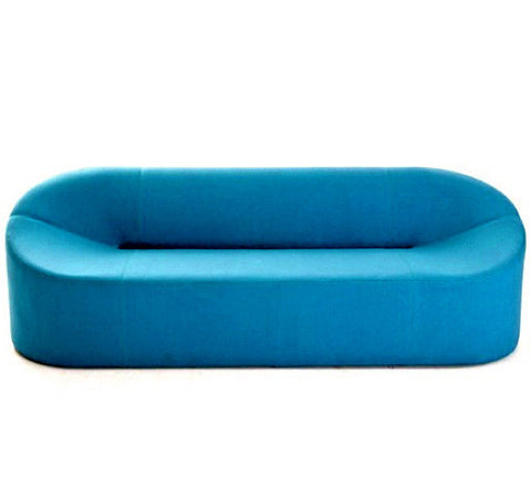 Morph Three Seater modern sofa in blue