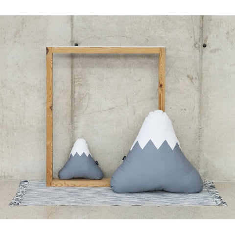 Modern Mountain shape XL Puff in Grey | 212Concept