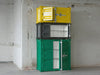 Modern colorful container metal cabinets in different sizes and colors | 212Concept