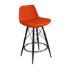 Modern leather bar stools