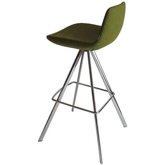 Buy Low Back Seat 4-Legged Pera Ellipse Stool | 212Concept