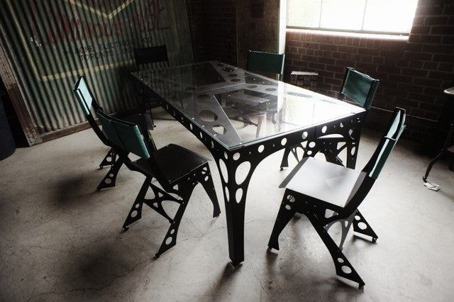 Masculine Dining Table