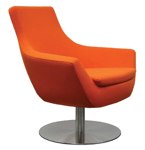Rebecca Chair Orange Wool