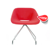 Buy Oval Shaped Commercial Modern Swivel Dining Chair | 212Concept