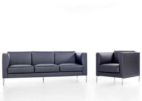 Buy Soft Deep Seated Lounge Chair & Sofa In Leather | 212Concept