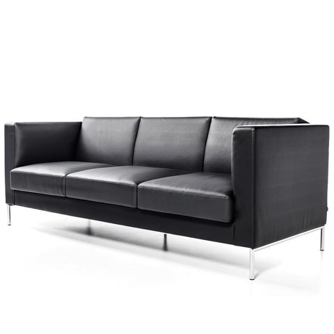 Buy Soft Deep Seated Sofa In Leather | 212Concept