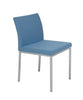 Blue Wool Dining Chair