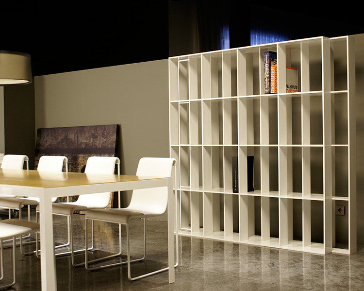 Buy Three-Layer Design Aluminum Bookcase | 212Concept