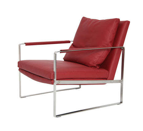 Red Zara Lounge Chair