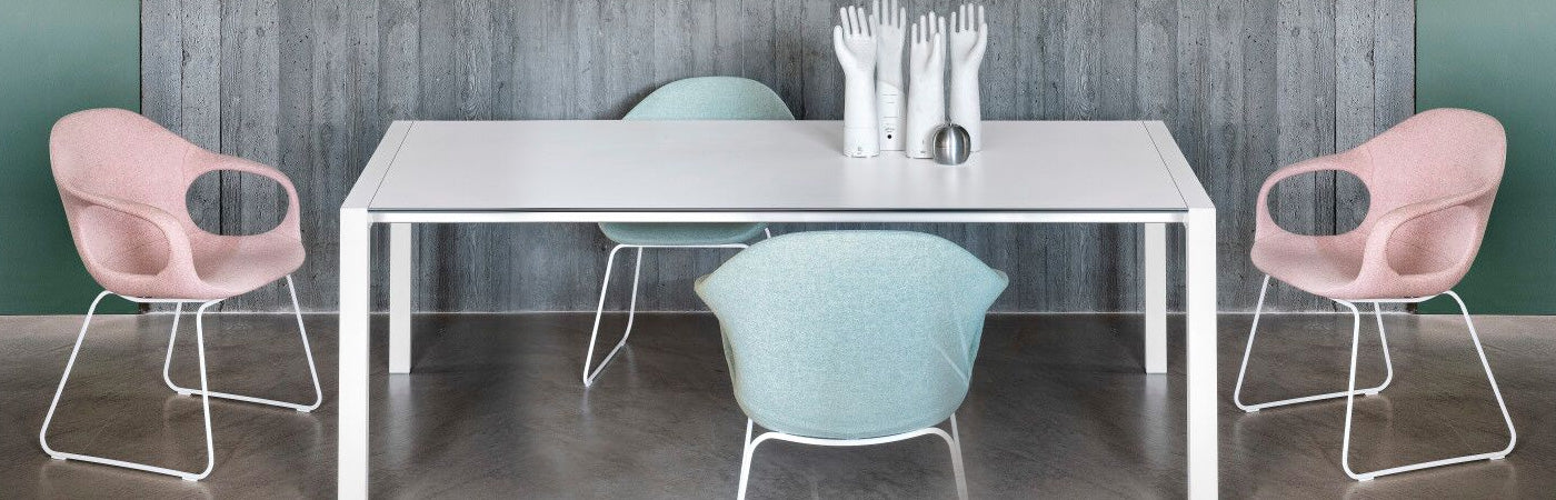 Sled Base Chairs, Wire Mesh Chair | 212Concept