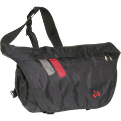 Drift messenger bag black