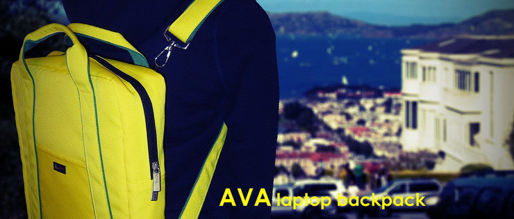 AVA laptop backpack