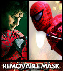 CLEARANCE: Deluxe Spiderman - Removable Mask (Navy or Blue)