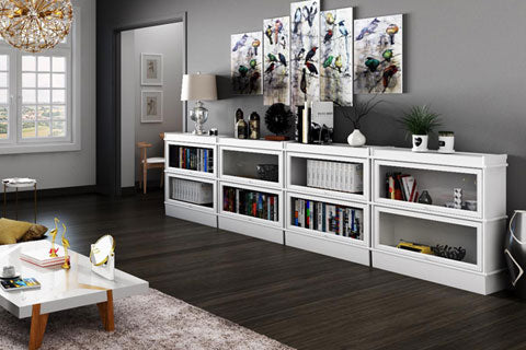 Not Just For Books: Our Favorite Barrister Bookcase Storage ...