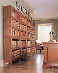 Heritage Collection Traditional Barrister Bookcases