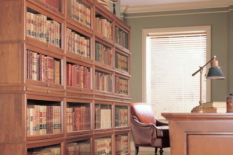Hale Heritage Barrister Bookcases in a law office