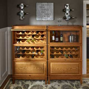 Hale Heritage Barrister Wine Cabinets