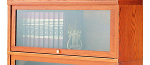 #811-12 Deep Receding Glass Door Section- Small