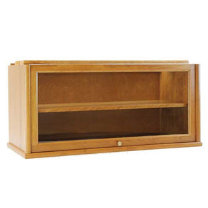 Hale Heritage Barrister Bookcase 31515-AS Extra Deep Glass Receding Door Section with Shelf
