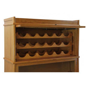 Hale Heritage Barrister Bookcase WRI15 Wine Rack Insert for #31515 Receding Door Section