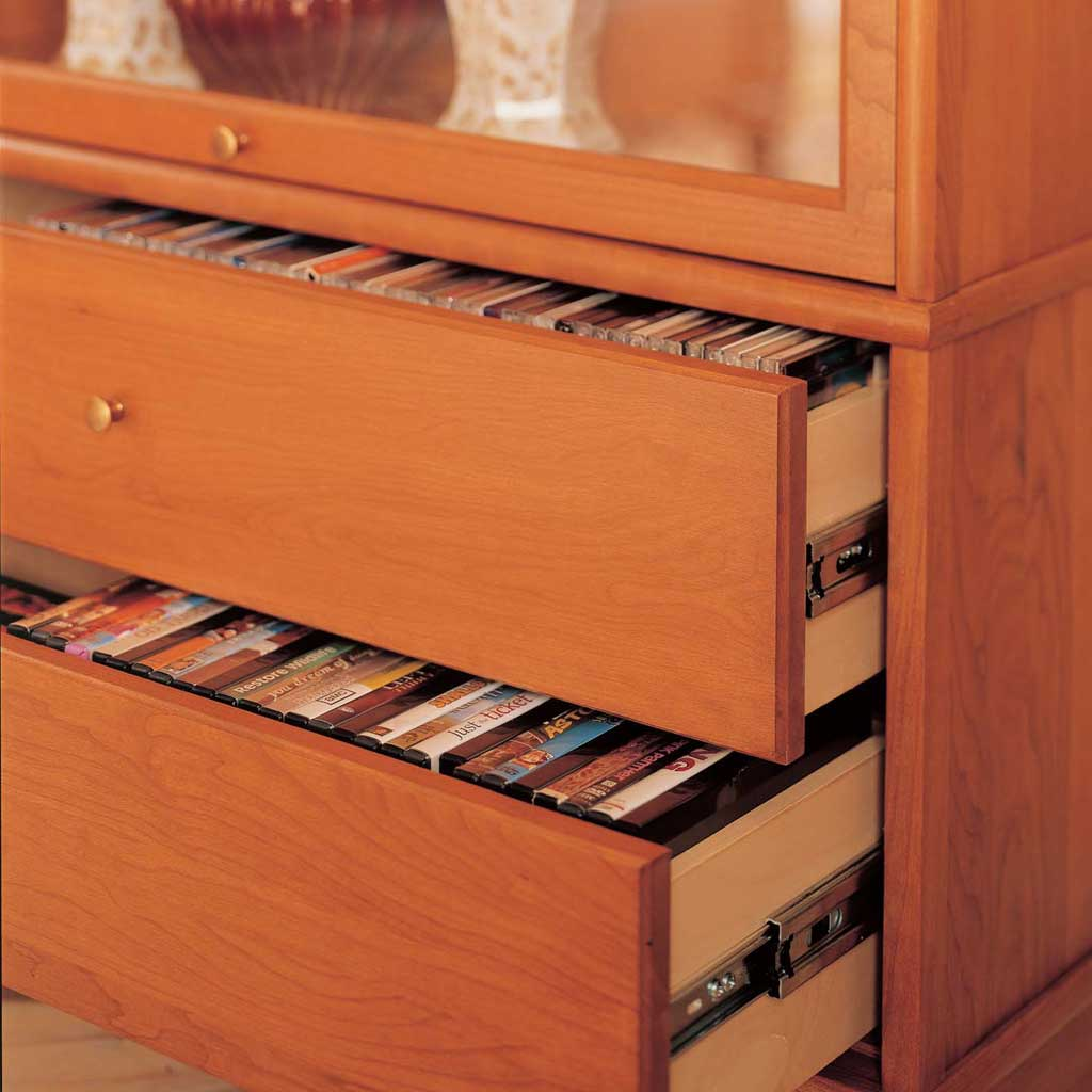 314sd Standard Two Cd Dvd Drawer Section