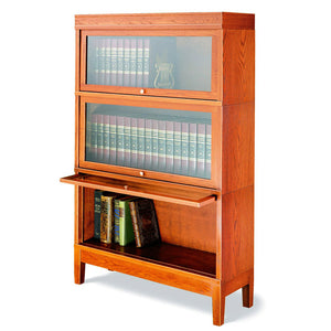 Hale Legacy Barrister Bookcase in Cherry wood