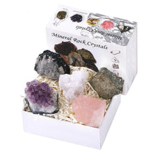 Load image into Gallery viewer, Mineral Rock Crystal Box | GULA MAGICK