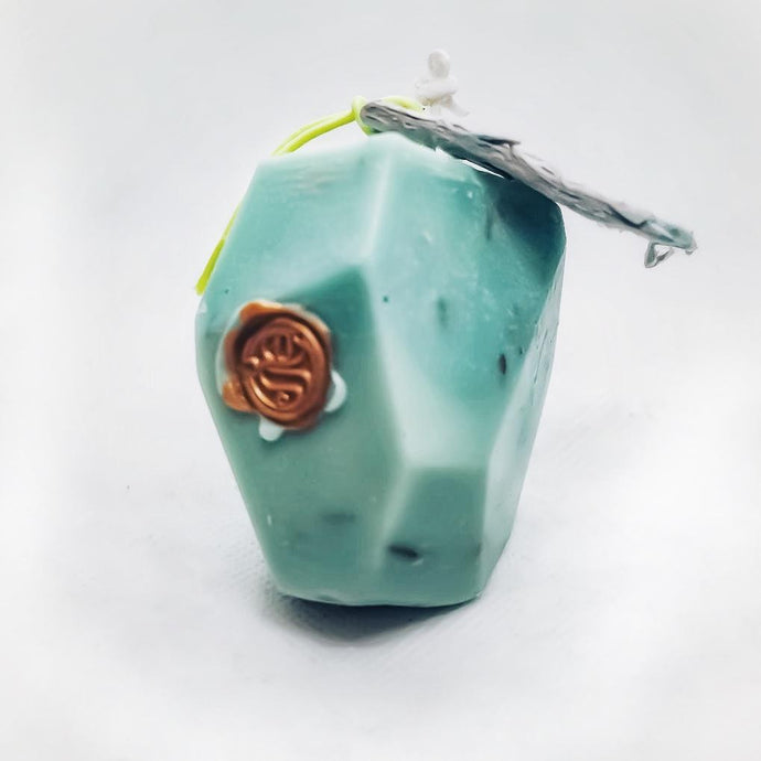 Prosperity Stone Candle | Intention Magick - GULA MAGICK