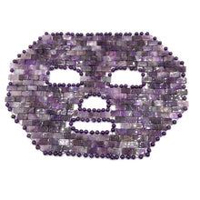 Load image into Gallery viewer, Amethyst Crystal Face Mask | GULA MAGICK