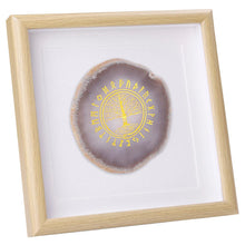 Load image into Gallery viewer, Tree of Life Agate Wall Frame | GULA MAGICK