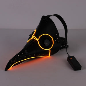 Plague Doctor LED Mask | GULA MAGICK