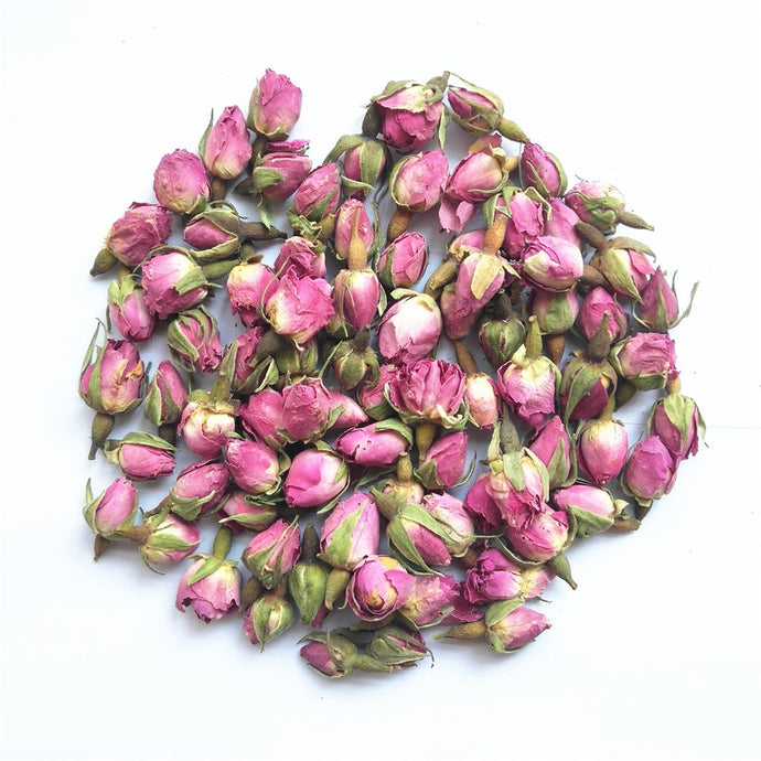 Dried Pink Rose Buds, 100g | GULA MAGICK