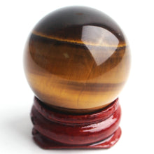 Load image into Gallery viewer, Crystal Sphere Ball, 30mm | GULA MAGICK