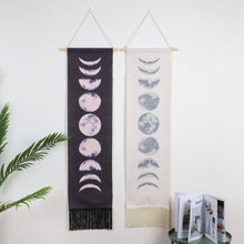 Load image into Gallery viewer, Moon Phase Tapestry | GULA MAGICK