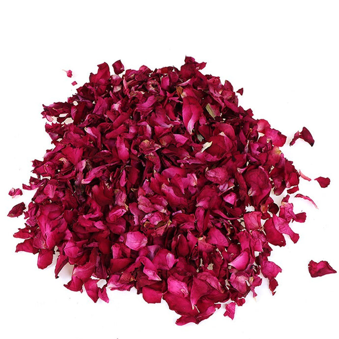 Dried Red Rose Petals, 100g | GULA MAGICK