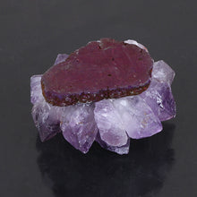 Load image into Gallery viewer, Amethyst Quartz Candleholder | GULA MAGICK