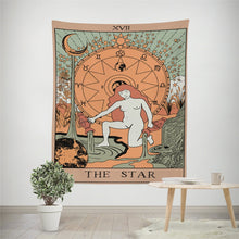 Load image into Gallery viewer, The Morning Star Tarot Tapestry | GULA MAGICK
