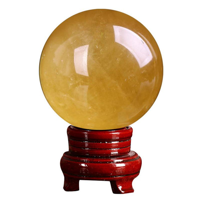 Citrine Crystal Ball, 3cm | GULA MAGICK