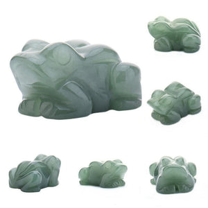 Green Aventurine Frog Ornament | GULA MAGICK