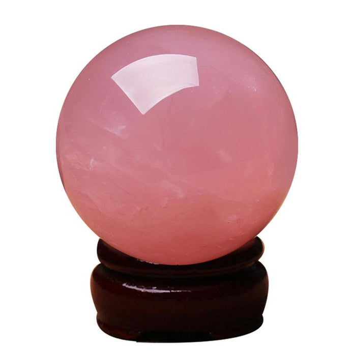 Rose Quartz Crystal Ball, 3cm | GULA MAGICK