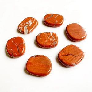 Red Jasper Palm Stone Set | GULA MAGICK